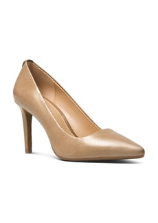 MICHAEL Michael Kors Dorothy Flex Leather Pointed Toe High-Heel Pumps
