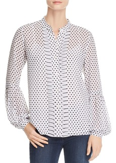 MICHAEL Michael Kors Dot-Print Blouse - 100% Exclusive