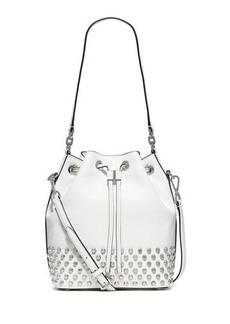 MICHAEL Michael Kors Dottie Studded Leather Large Bucket Bag