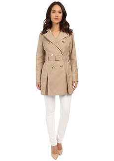 MICHAEL Michael Kors Double Breasted Belted Trench M722032R
