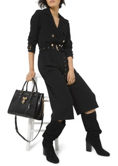 MICHAEL Michael Kors Double Breasted Cropped Jumpsuit