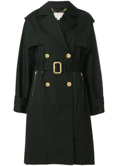 Michael Michael Kors double-breasted trench coat - Black