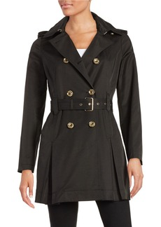 MICHAEL KORS Double-Breasted Trench Coat