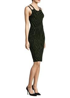 MICHAEL MICHAEL KORS Double Trim Bodycon Dress