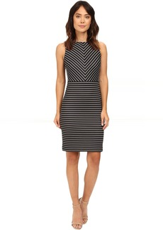 MICHAEL Michael Kors Douglas Stripe Seam Dress