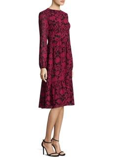 MICHAEL MICHAEL KORS Easy-Fit Garden Tier Dress