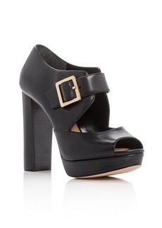 MICHAEL Michael Kors Eleni Peep Toe Platform Sandals