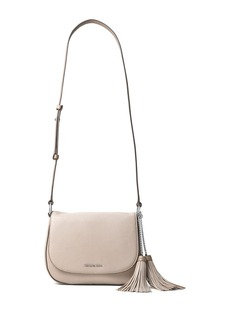 MICHAEL MICHAEL KORS Elyse Large Leather Saddle Bag