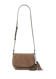 MICHAEL MICHAEL KORS Elysel Large Suede Saddle Bag
