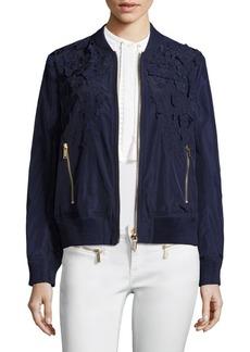 MICHAEL MICHAEL KORS Embellished Bomber Jacket