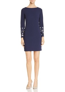 MICHAEL Michael Kors Embellished-Cuff Knit Dress