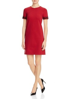 MICHAEL Michael Kors Embellished Cuff Shift Dress - 100% Bloomingdale's Exclusive
