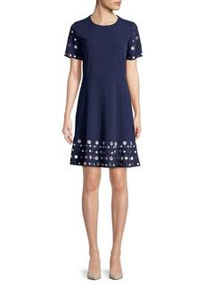 MICHAEL MICHAEL KORS Embellished Flounce Dress