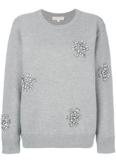 Michael Michael Kors embellished jumper - Grey