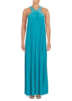 MICHAEL MICHAEL KORS Embellished Maxi Dress