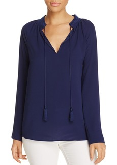 MICHAEL Michael Kors Embroidered Peasant Blouse - 100% Exclusive