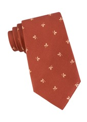 MICHAEL MICHAEL KORS Embroidered Silk Neck Tie