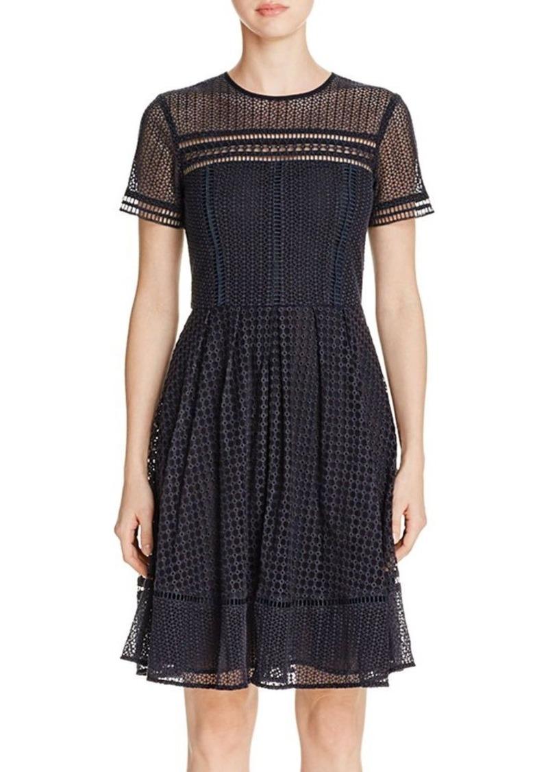 MICHAEL Michael Kors Eyelet Cutout Dress
