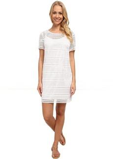 MICHAEL Michael Kors Eyelet T-Shirt Dress