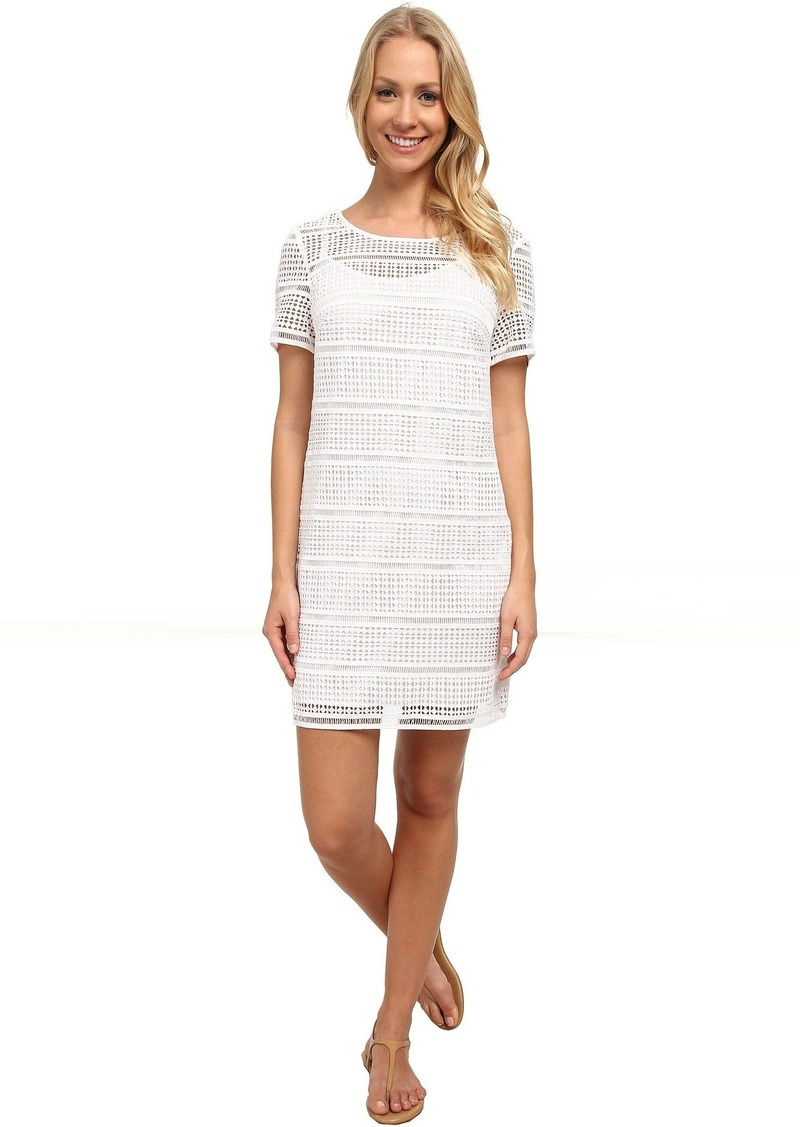 MICHAEL Michael Kors Eyelet T-Shirt Dress