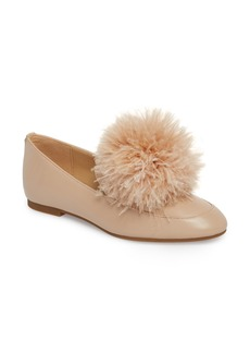MICHAEL Michael Kors Fara Feather Pom Loafer (Women)