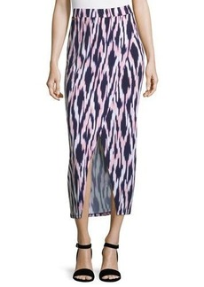 MICHAEL Michael Kors Faux-Wrap Maxi Skirt