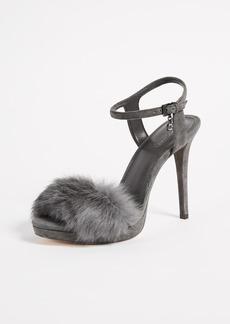 MICHAEL Michael Kors Faye Fur Sandals