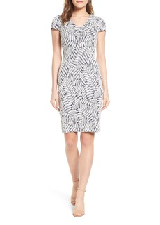 MICHAEL Michael Kors Fern Jacquard Sheath Dress