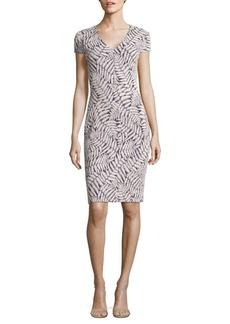 MICHAEL MICHAEL KORS Fern Knit Jacquard Bodycon Dress
