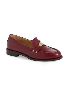 MICHAEL Michael Kors Finley Logo Plaque Loafer (Women)
