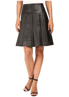 MICHAEL Michael Kors Fit and Flare Pleated Skirt
