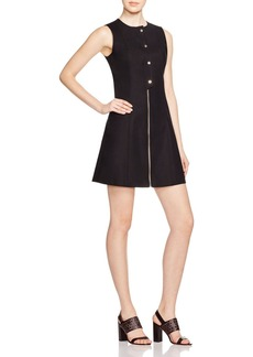 MICHAEL Michael Kors Fit and Flare Zip Dress