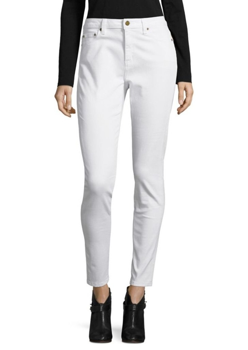 MICHAEL Michael Kors Fitted Buttoned Jeans