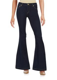 MICHAEL MICHAEL KORS Five-Pocket Flared Jeans - Twilight