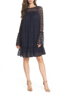 MICHAEL Michael Kors Flare Cuff Lace Dress