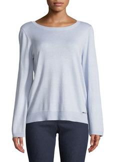 MICHAEL Michael Kors Flare-Sleeve Sweater