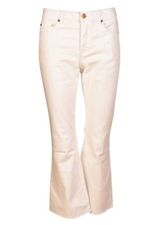 MICHAEL Michael Kors Flared Cropped Jeans