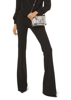 MICHAEL Michael Kors Flared Twill Pants
