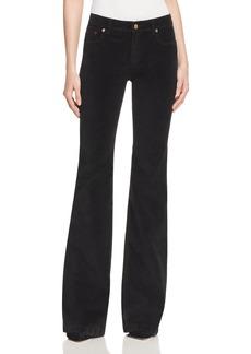 MICHAEL Michael Kors Flared Velvet Jeans - 100% Bloomingdale's Exclusive