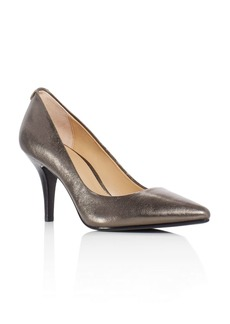 MICHAEL Michael Kors Flex Metallic Pointed Toe Pumps