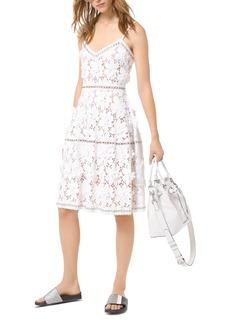 MICHAEL Michael Kors Floral-Appliqu� Lace Dress