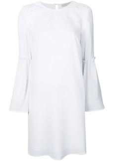 MICHAEL Michael Kors floral appliqué shift dress