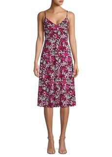 MICHAEL Michael Kors Floral Camisole Midi Dress