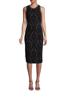 MICHAEL Michael Kors Floral Jacquard Dress