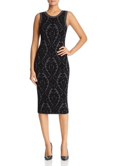 MICHAEL Michael Kors Floral Jacquard Midi Dress - 100% Exclusive