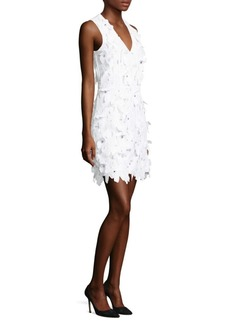 MICHAEL Michael Kors Floral Lace Mini Dress