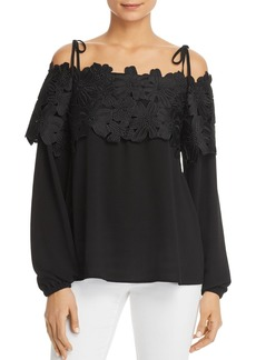 MICHAEL Michael Kors Floral Lace Off-the-Shoulder Top - 100% Exclusive