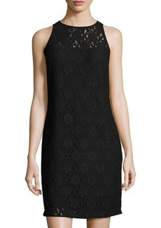 MICHAEL Michael Kors Floral Lace Shift Dress