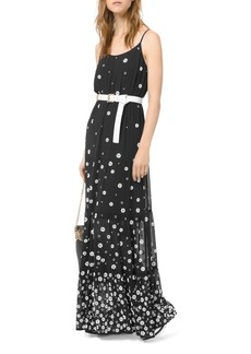 MICHAEL Michael Kors Floral Maxi Dress