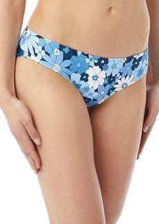 MICHAEL Michael Kors Floral-Print Bikini Bottom